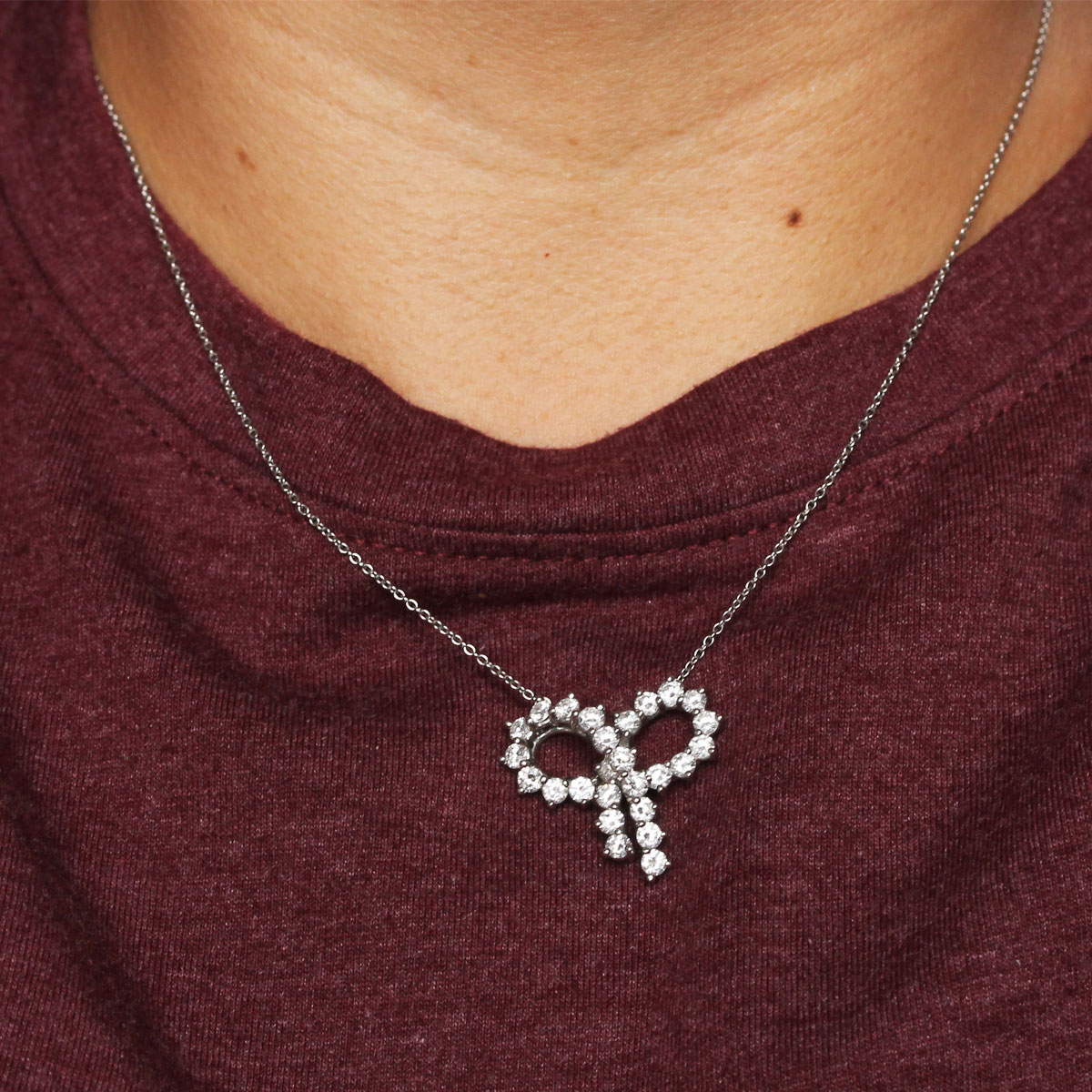 Tiffany & Co. Bow Necklace