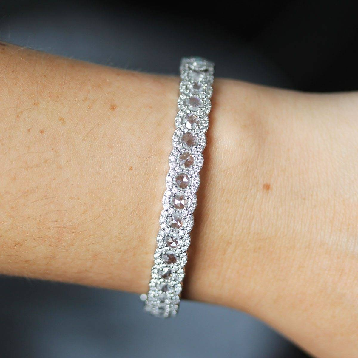 Tiffany diamond bracelet