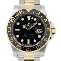 Rolex 116713 GMT-Master II Ceramic Bezel Watch