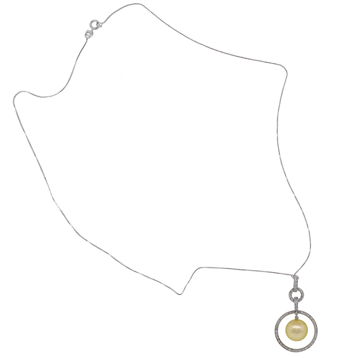 Iridesse Pearl Pendant Necklace