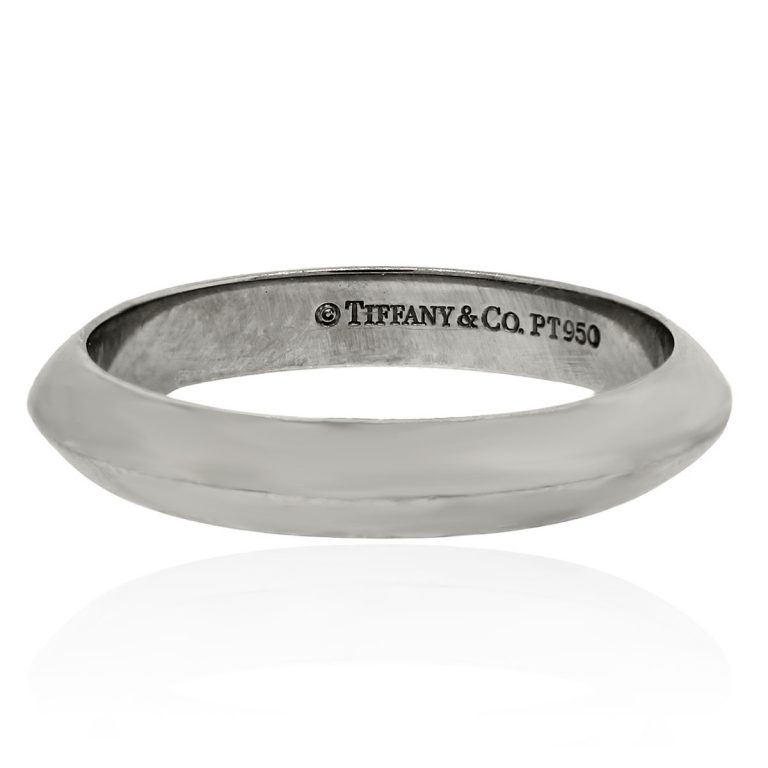 tiffany co platinum 3mm wedding band
