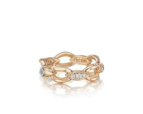 Rose Gold Tacori ring from the Ivy Lane collection