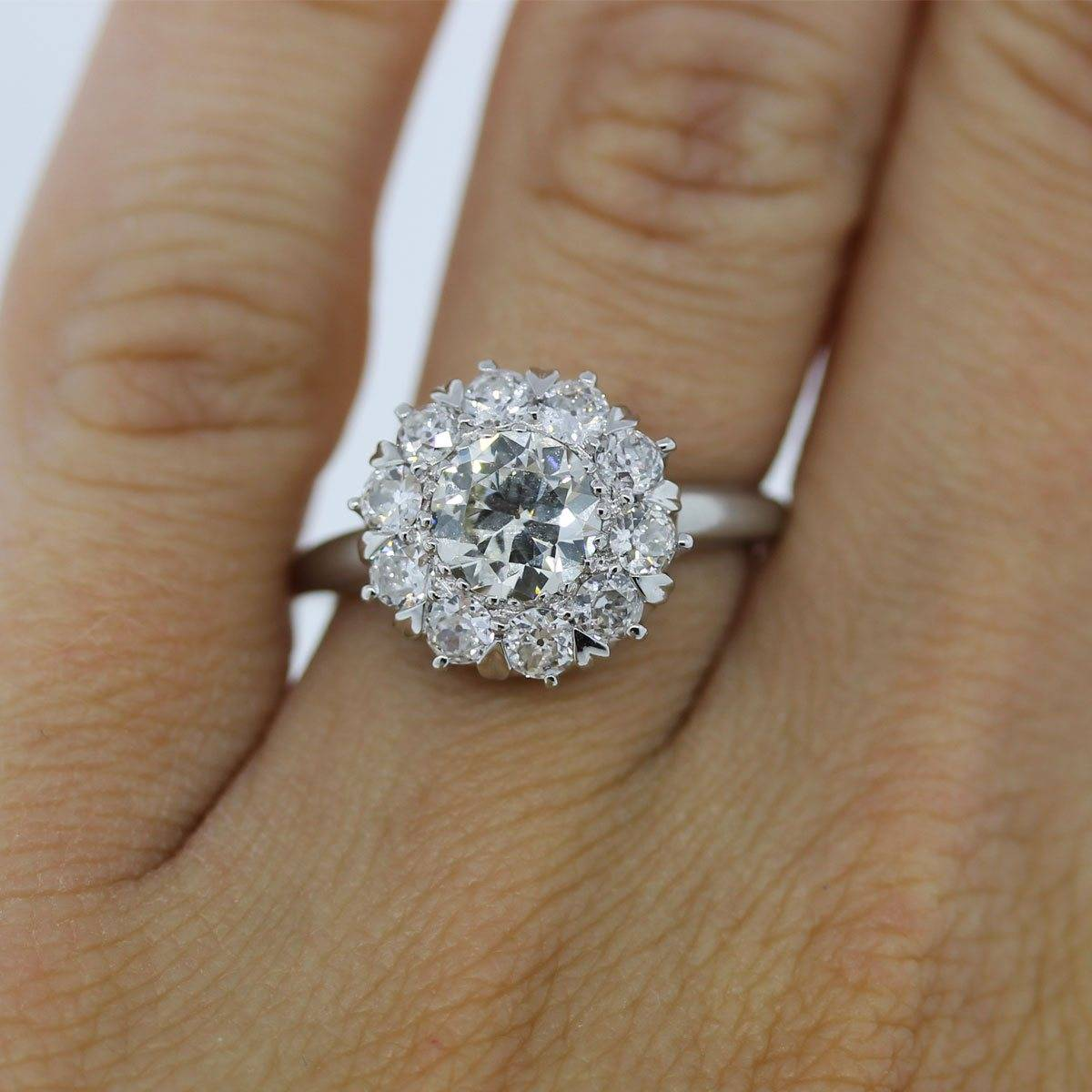 One Carat Solitaire Diamond Ring