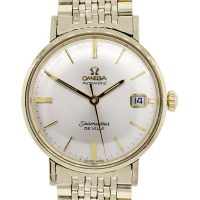 Omega Automaster Seamaster Deville Gold Filled Watch