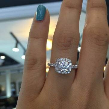 Gabriel & Co. engagement rings