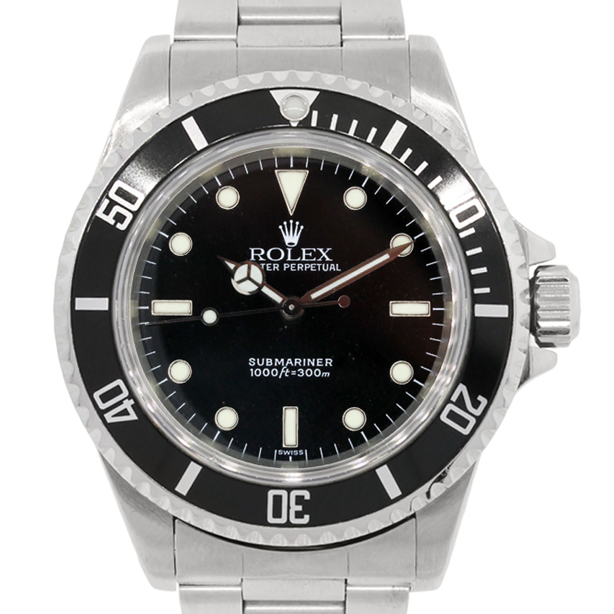Rolex 14060 Submariner Non-Date Steel Watch