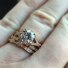Tacori Engagement Rings Stacked to Perfection