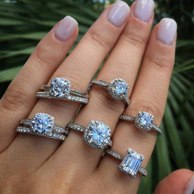 different types of engagement rings - Different Wedding Rings