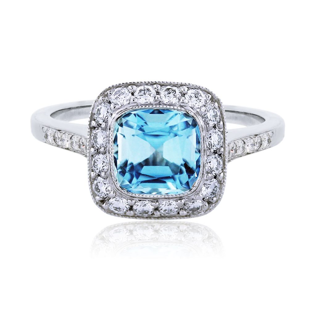 Aquamarine Rings Under
