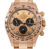 Rolex 116505 Daytona 18k Everose Gold Watch