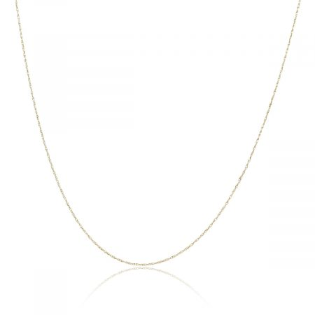 """18k Yellow Gold 18"""" Chain Necklace"""
