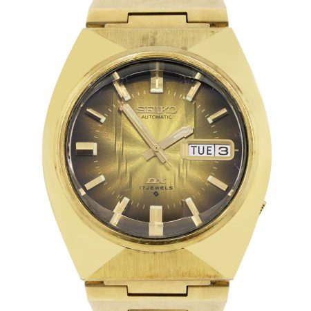 Seiko DX 6106-7729 Gold plated Gents Vintage Watch