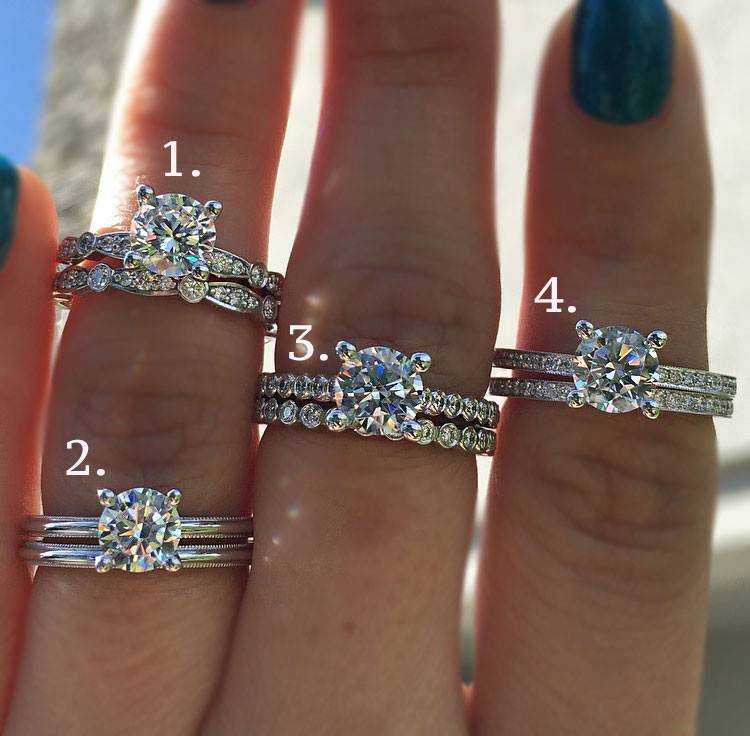 Solitaire Vs Halo Engagement Rings Decision 2016