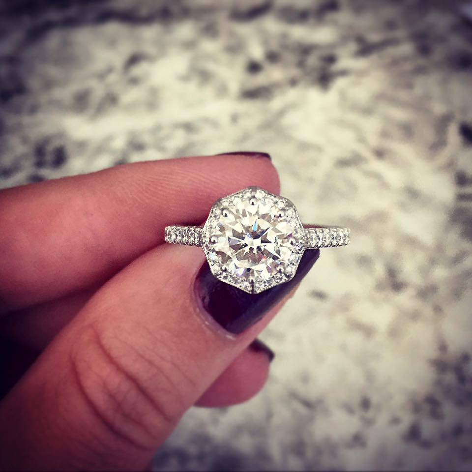 Halo Engagement Rings for Fall - Our Top 10 Picks - Raymond Lee Jewelers