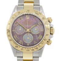 Rolex 116523 Daytona MOP Dial Two Tone Watch