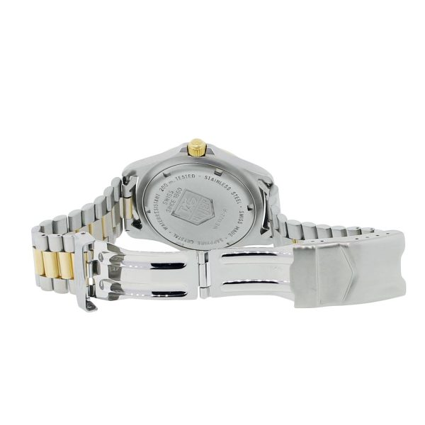 Tag Heuer WE1122-R Professional 2000 Series Two Tone Watch
