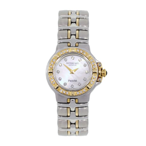Raymond Weil Parsifal MOP Diamond Dial Two Tone Watch