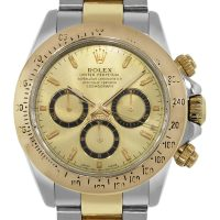 Rolex Daytona 16523 Two Tone Champagne Dial Watch