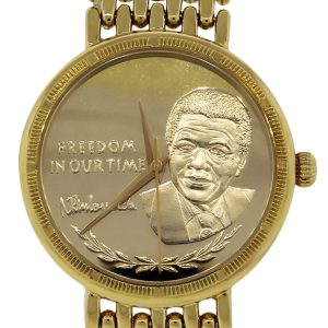 Nelson Mandela Yellow Gold Watch