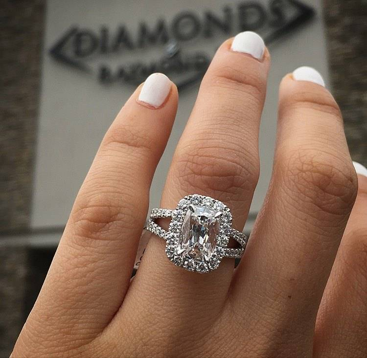Top 10 Cushion Cut Engagement Rings of 2016 Raymond Lee Jewelers