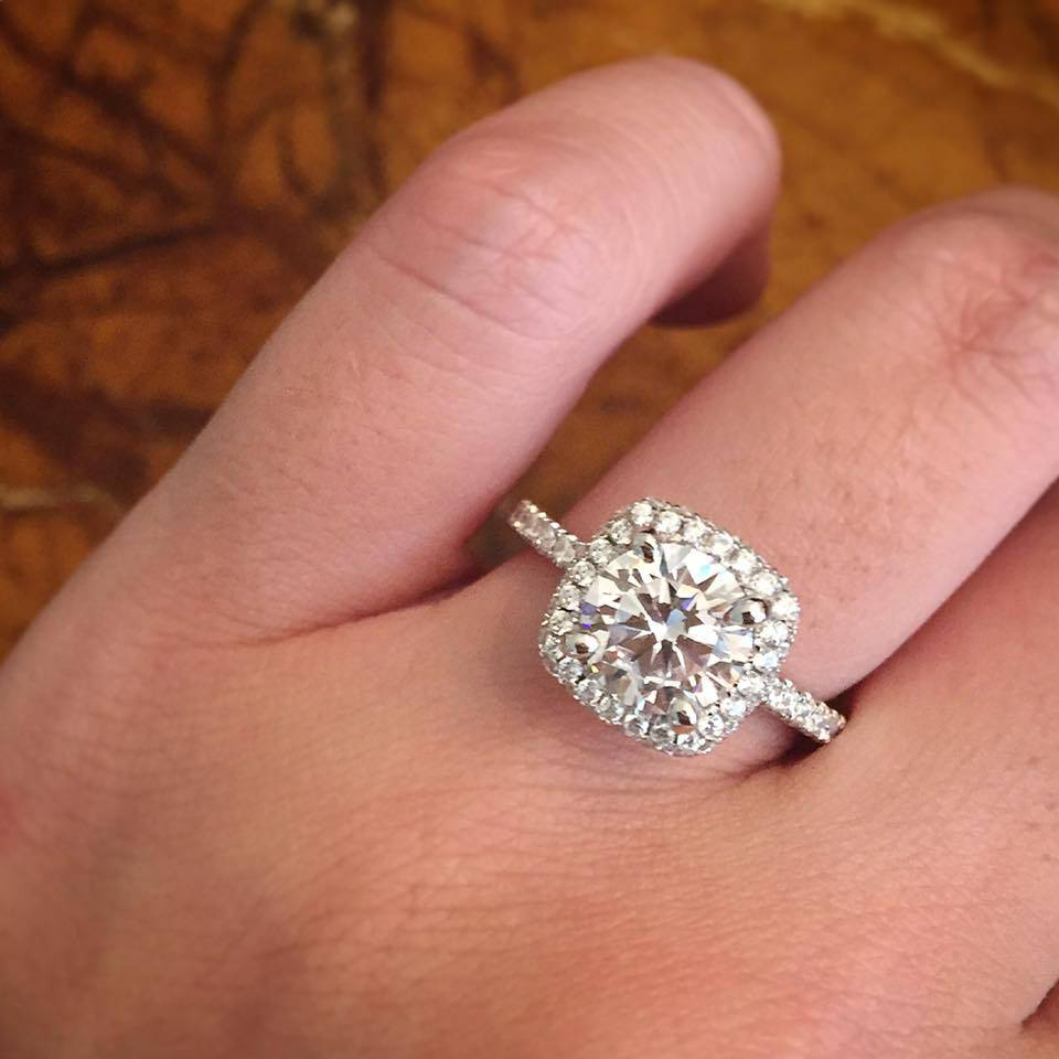 Top 10 Cushion Cut Engagement Rings