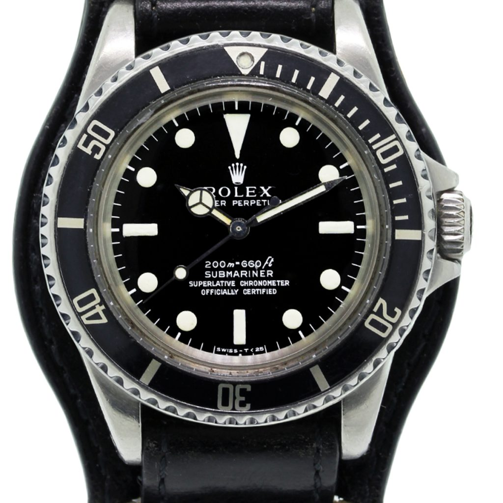 rolex submariner 5512 on leather band watch raymond lee. Black Bedroom Furniture Sets. Home Design Ideas
