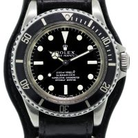Rolex Submariner 5512 on Leather Band Watch