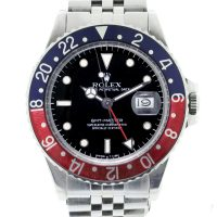 Rolex Stainless Steel GMT Master 16750 Watch