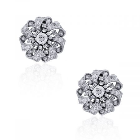 Diamond Vintage Earrings