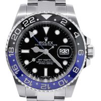 Rolex GMT Master II 116710 Black & Blue Batman Mens Watch