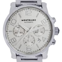 Mont Blanc 7069 Timewalker Stainless Steel Chronograph Mens Watch