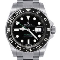 Rolex 116710 GMT Master II Stainless Steel Mens Watch