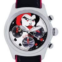 Corum Bubble Limited Edition Joker Stainless Steel Chronograph Watch
