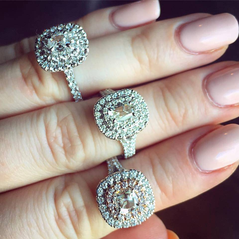 Henri Daussi Engagement Rings