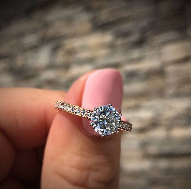 Best Engagement Rings On Instagram