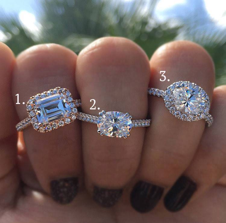 Solitaire vs Halo Engagement Ring
