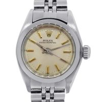 Rolex 6718 Stainless Steel Oyster Stick Dial Ladies Watch