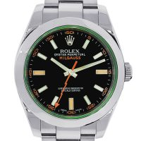 Rolex Milgauss 116400V Stainless Steel Black Dial Watch