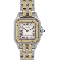 Cartier 1120 Panther Two Tone Ladies Watch