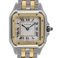Cartier Panther 166921 Two Tone Gold Ladies Watch