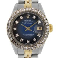 Rolex 6917 Datejust Two Tone Diamond Dial and Bezel Ladies Watch