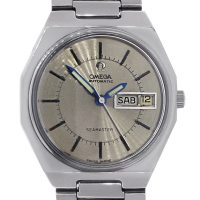 Omega Seamaster Day-Date Stainless Steel Mens Watch