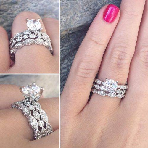 stacked wedding rings best wedding ring stack ideas for summer raymond 7656