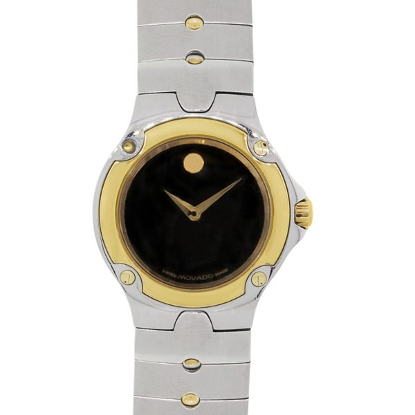Movado Yellow Gold Plated Stainless Steel Sports Edition Watch