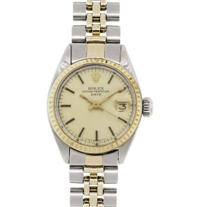 Rolex 6917 Date Two Tone Ladies Watch