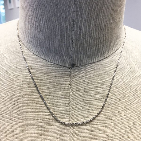 Chopard 18k White Gold Chain Necklace