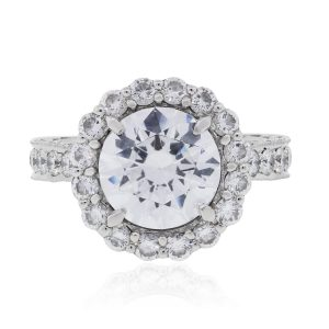 Tacori Platinum 1.32ctw Diamond Engagement Ring