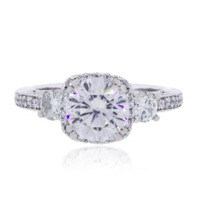 Tacori 18k White Gold 0.50ctw Diamond Dantela Setting