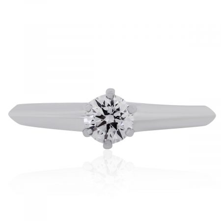 Tifany & Co. Platinum Engagement Ring