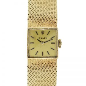 Rolex 14k Yellow Gold Ladies Vintage Watch